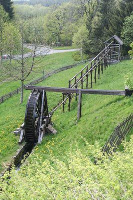 The Kunstrad Bergbau flatrod system, Germany. Heinz-Josef Lücking / CC BY-SA 3.0