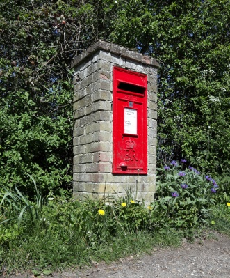 This innocent-looking Royal Mail post box in an English village could conceal a hidden 5G mast! (If only! - finally, decent bandwidth around here.)