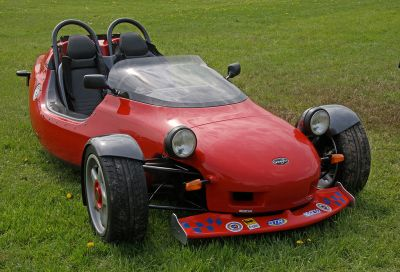 The Grinnall Scorpion is a three-wheeler I would definitely drive! Brian Snelson (CC BY 2.0)