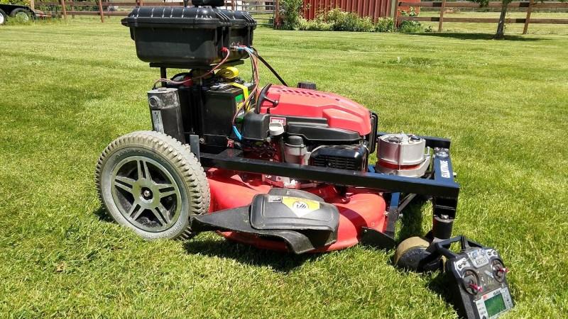 Rc Lawn Mower Keeps The Gr Greener