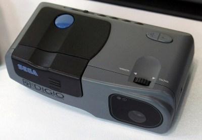 Even Sega tried their hand at digital cameras, with the 1996 Digio SJ-1. Morio / CC BY-SA 3.0
