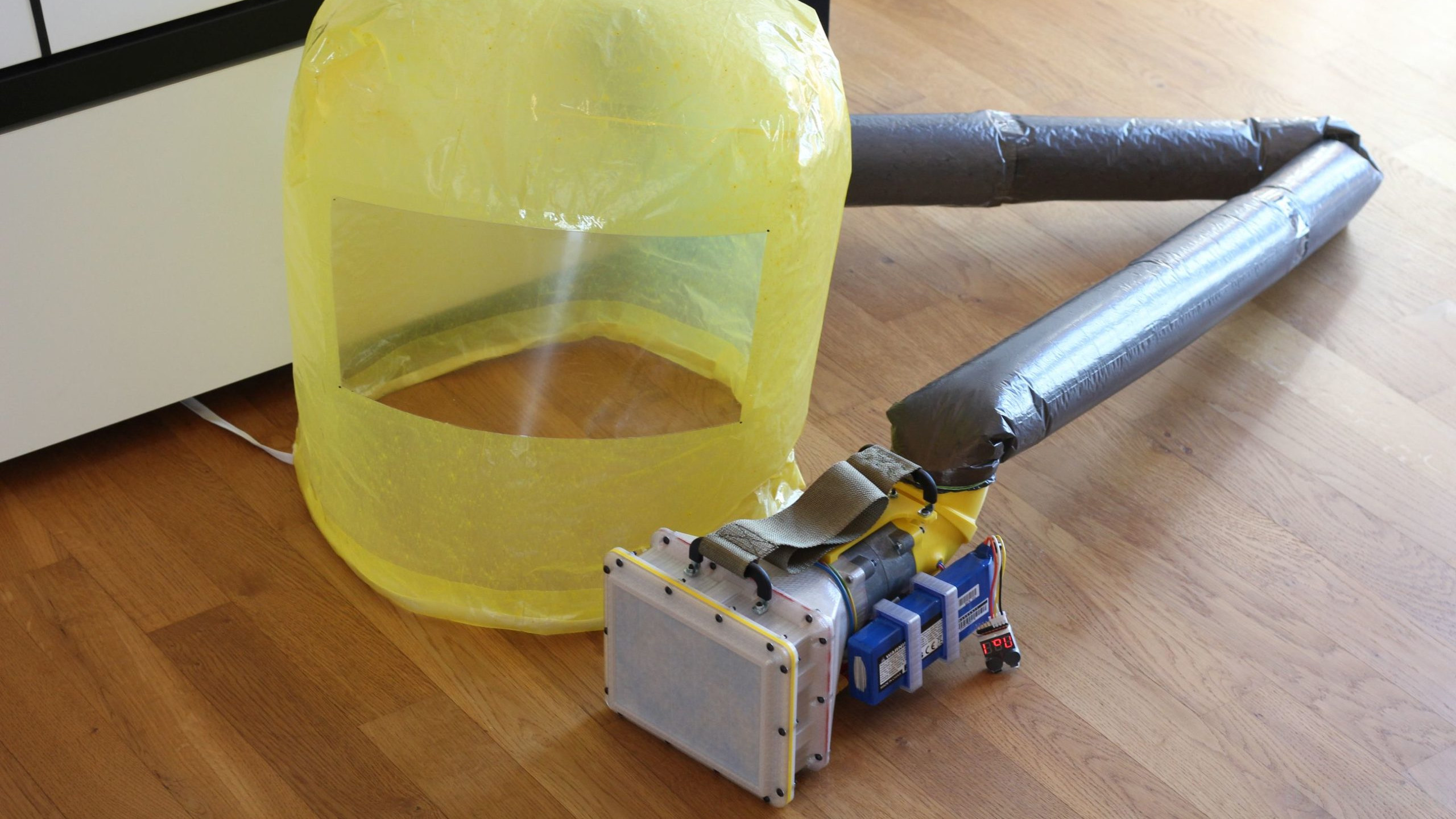 Terno de pressão positiva filtrada DIY mostra fino acabamento 9