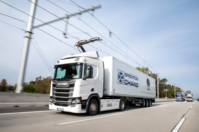 Siemens and Scania are justifiably proud of their electrified stretch of autobahn and electric trucks in Germany.