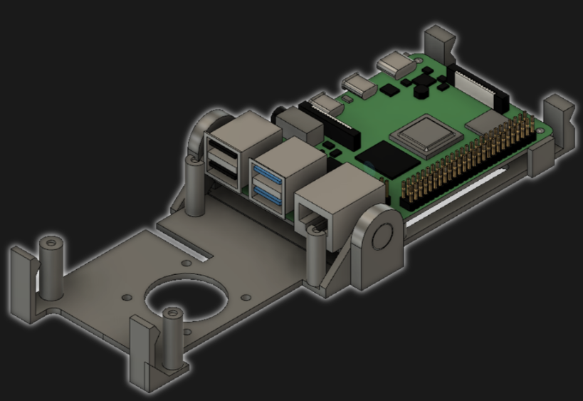 Folding Raspberry Pi Enclosure Prints in One Piece, No Screws in Sight