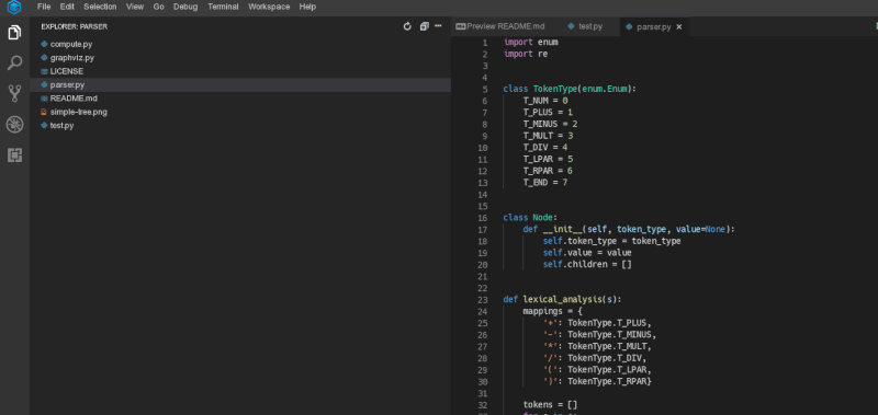 Parsing Math In Python
