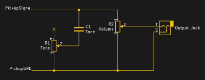 Modern wiring schematic