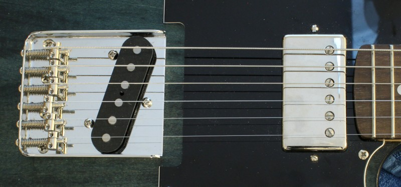 Single coil and Humbucker pickup