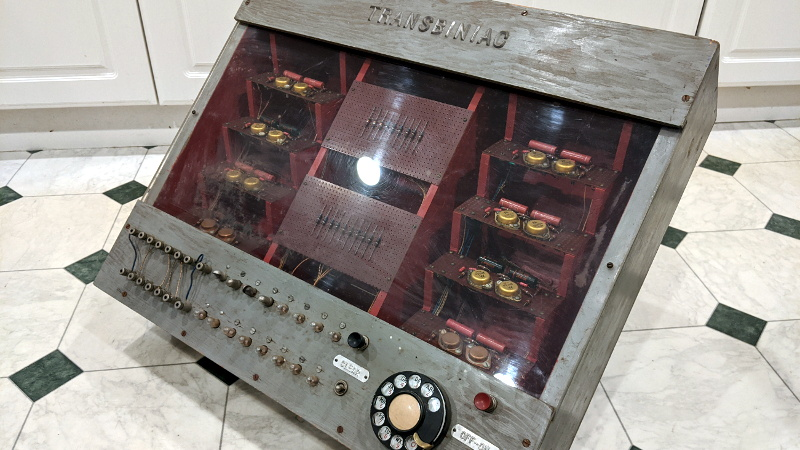 Restoring An Unusual Piece Of Computing History