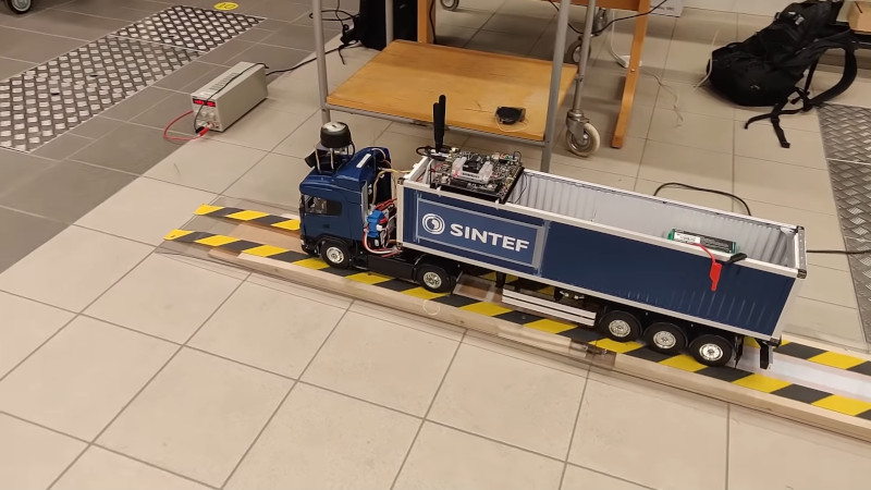 Self-Driving RC Truck Is A Master's Thesis In Cybernetics And Robotics - Image