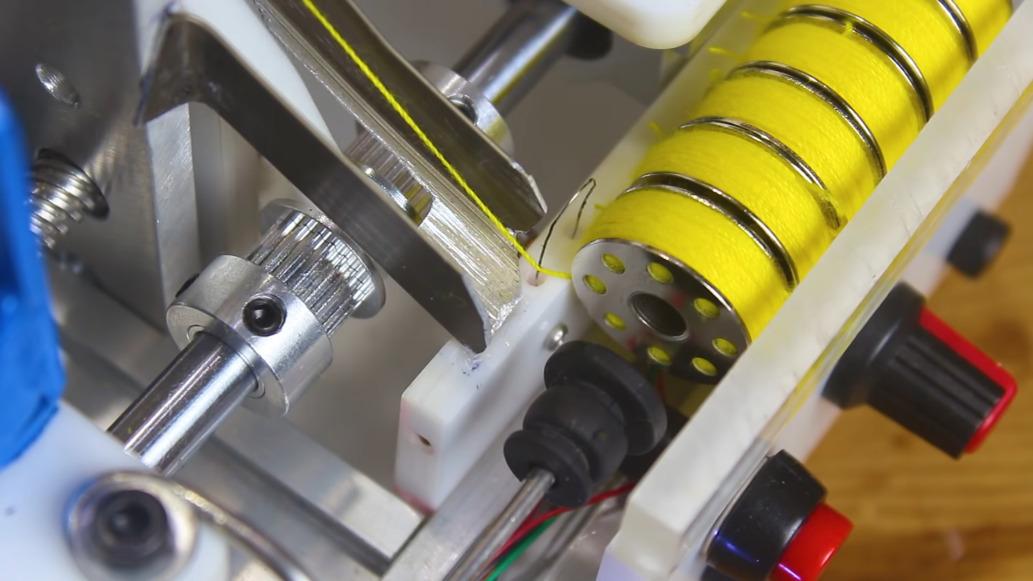 Arduino Bobbin Winding Machine is Freaky Fast