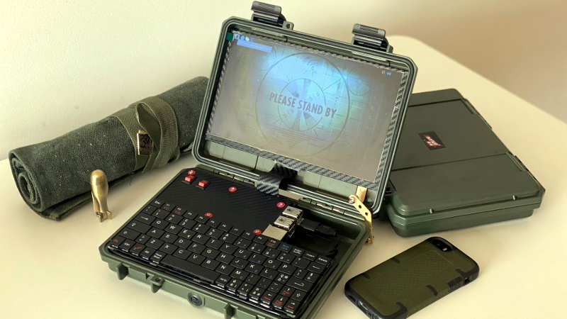 Simplifying The Ruggedized Raspberry Pi Portable
