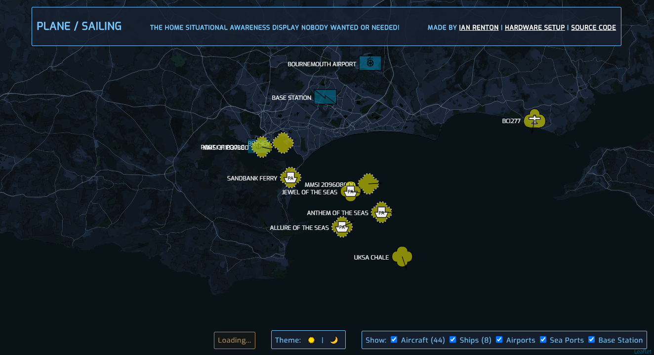 Tracking Boats And Ships In Real Time At The Same Time