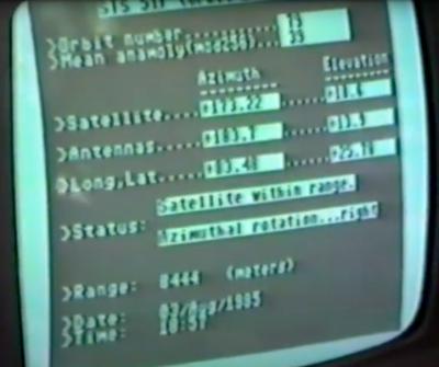 tracking screen 1985