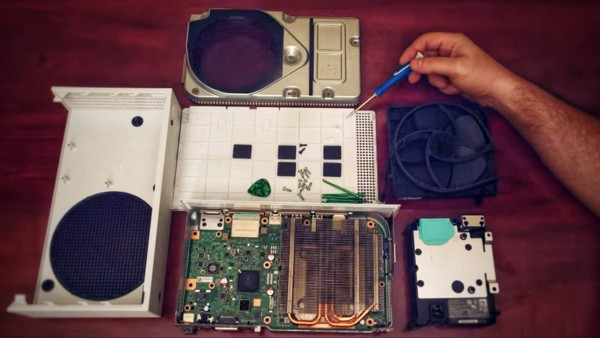 Xbox Series S Teardown Photo