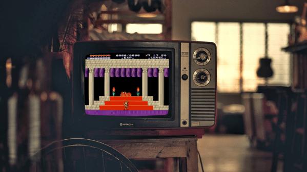 Zelda II Redux CRT Header Image