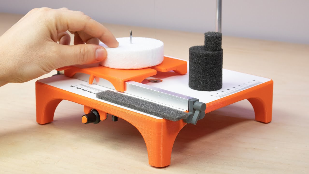 Hot Wire Foam Cutter Does Circles, Too