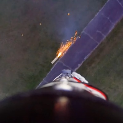 So Close to Landing a Model Rocket on Its Tail