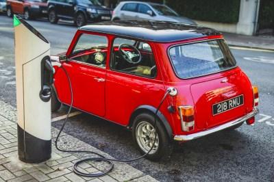 Swindon Powertrain's demo Mini