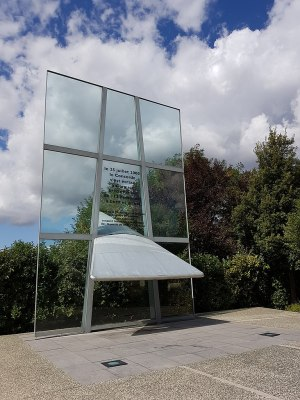 The memorial to those killed in the COncorde crash, Gonesse, France.