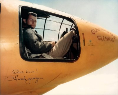 Chuck Yeager X 1 color