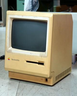 Is this any less a Macintosh because it shows its age? htomari, CC BY-SA 2.0.