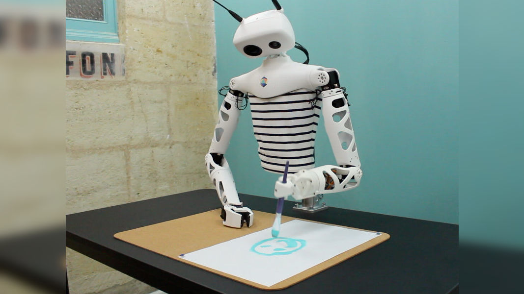 Reachy The Open Source Robot Says Bonjour