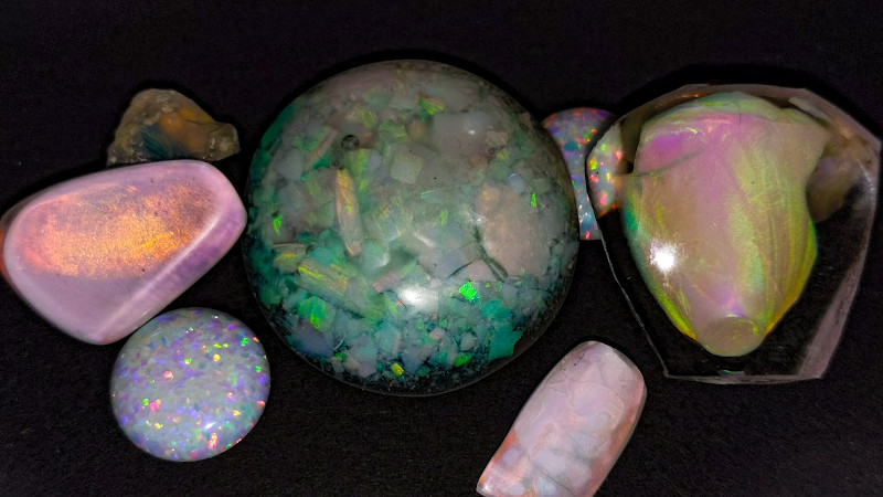 Growing Opals In The Lab