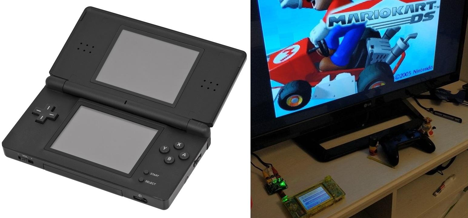 Hidden TV-Out On The Nintendo DS Lite - Hackaday