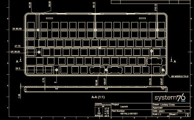 Launching an Open Source Keyboard; System76 has Published Their Design Files
