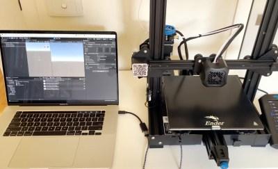 Apple II Talks to 3D Printer With a Little Modern help