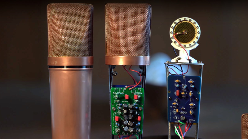Taking A Capacitor Microphone To The Next Level