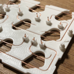 3D-Printed Macro Pad Ditches the PCB With Slick Wiring Guides