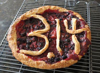 A Pi Day pie