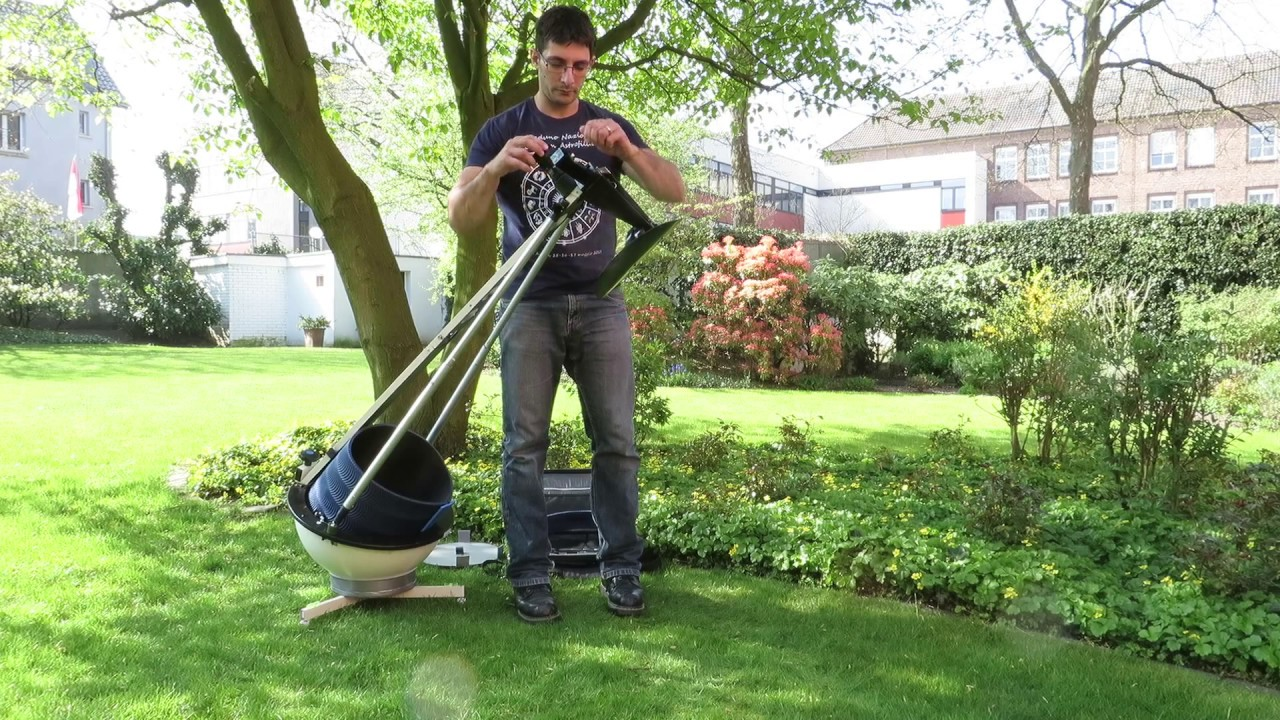 Portable Telescope Rolls Anywhere
