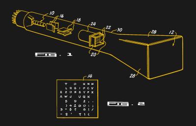 Charactron Tube Diagram