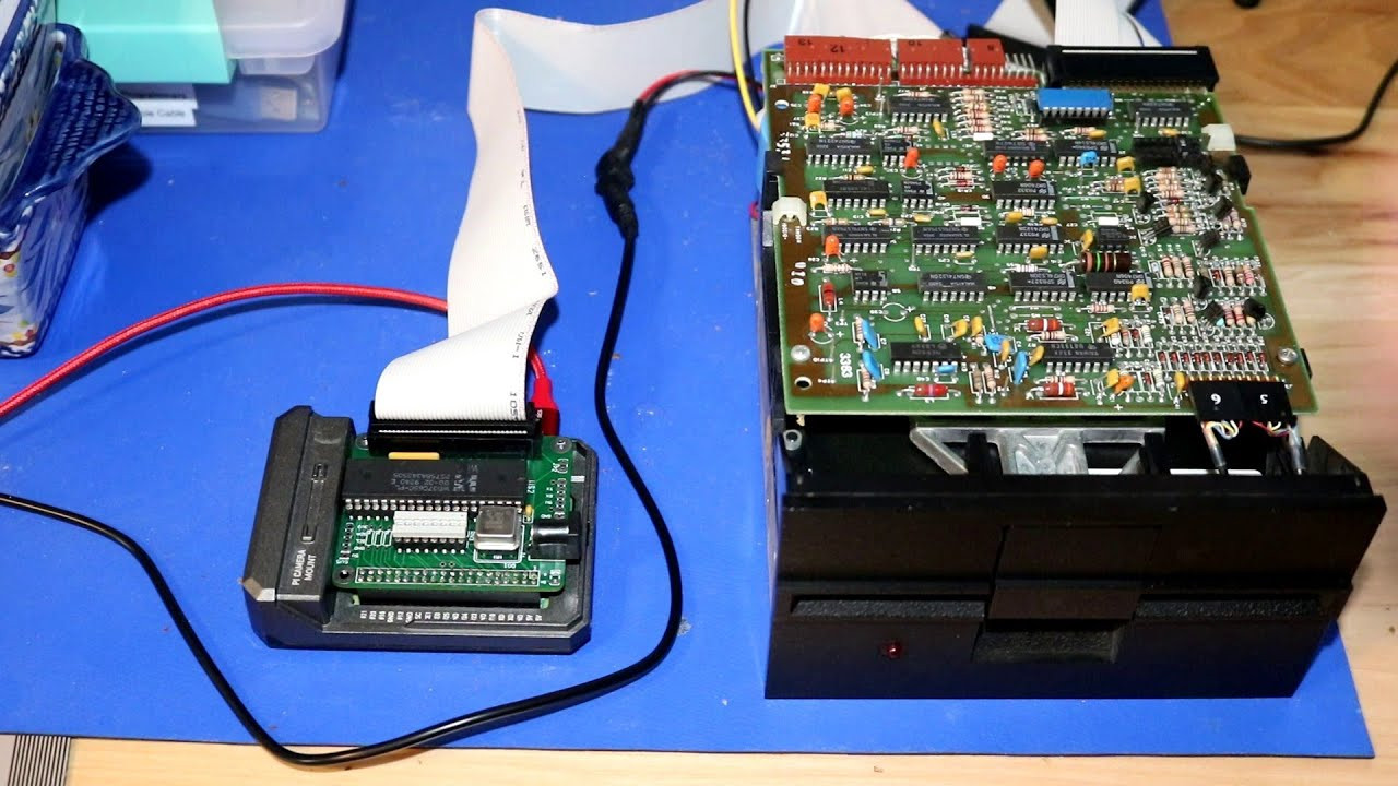 A Floppy Controller For The Raspberry Pi
