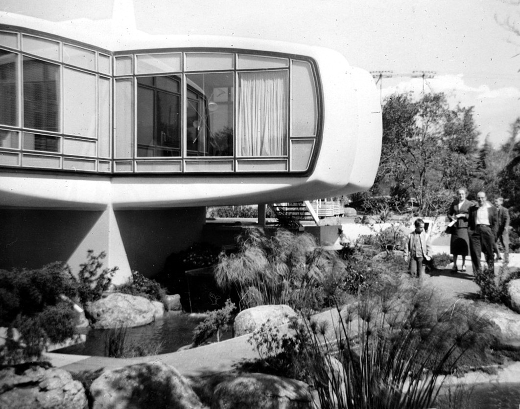 Disneyland's Monsanto House Of The Future. Orange County Archives from Orange County, California, United States of America, CC BY 2.0