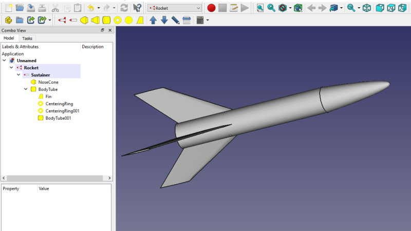 FreeCAD Takes Off With a Rocket Design Workbench