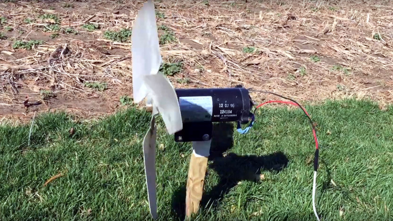 The Simplest Wind Turbine Is The Most Satisfying