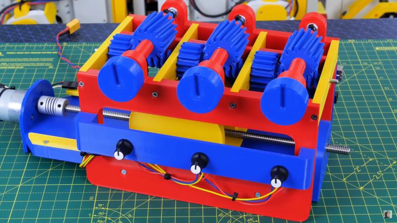 Prioritising Mechanical Multiplexer