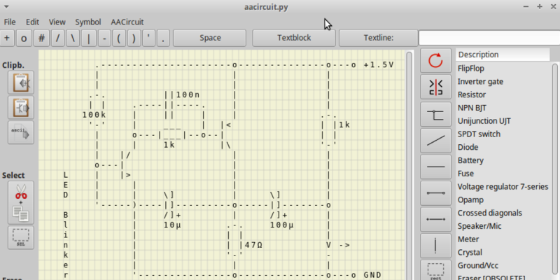 ASCII Schematic Diagrams