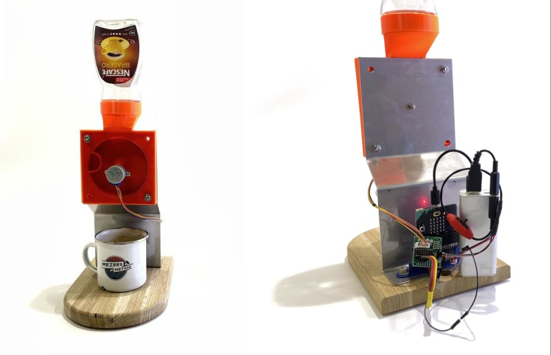 Totally Useless Coffee Dispenser is Anything But