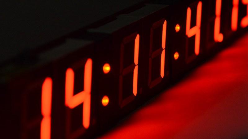 LED Brightness Adjustment Uses Itself as Sensor