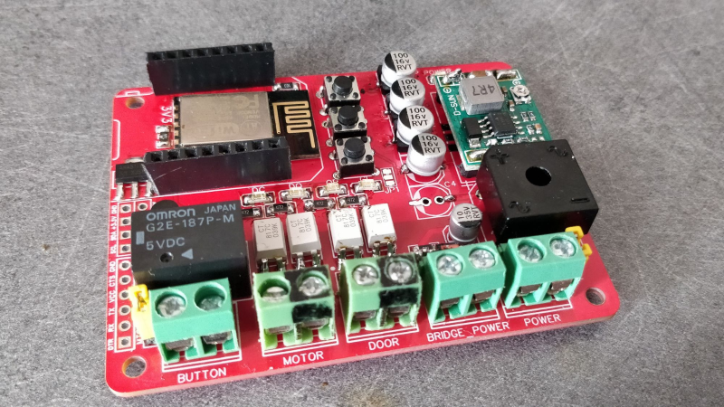 Garage Door Controller Gets The IoT Treatment