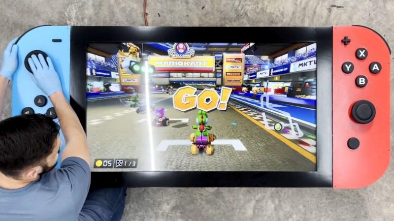 Giant Nintendo Switch Is Actually Playable