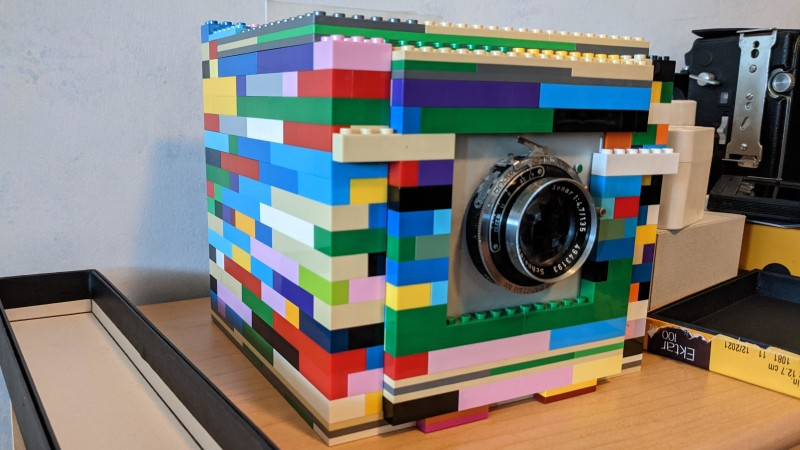Large Format Lego Camera is a Bit Near-Sighted