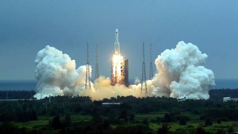 Look Out Below! China's Heavy-Lift Rocket Due for Uncontrolled Reentry Within Days