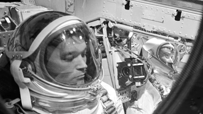 Alone, But Not Lonely: Remembering Astronaut Michael Collins