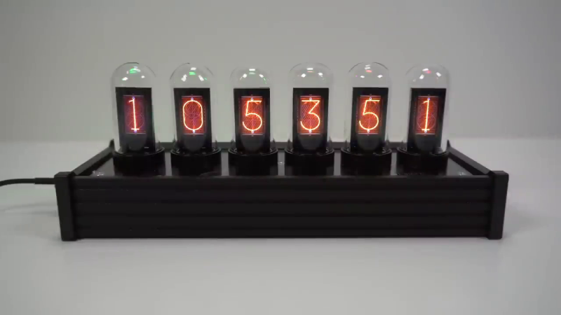 No-Nixie Nixie Clock