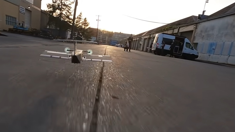 RC Ekranoplan Uses LIDAR to Fly In Ground Effect